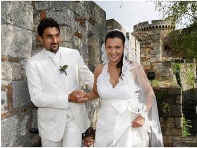 nenad i mina na venčanju