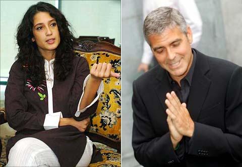 Fatima Buto i Džordž Kluni