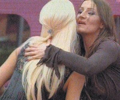 Jelena Karleuša i Mira Škorić se pozdravljaju u kući Velikog brata