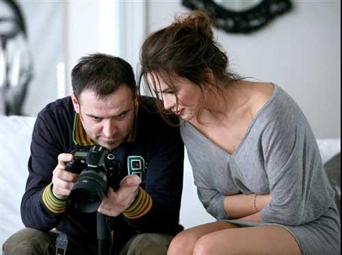 Severina i fotograf