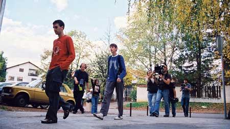 """Snimanje filma """"Jesen u mojoj ulici"""""""