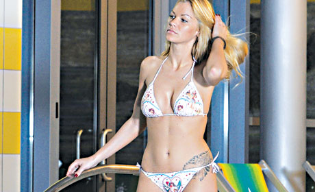 natasa-bekvalac-bikini