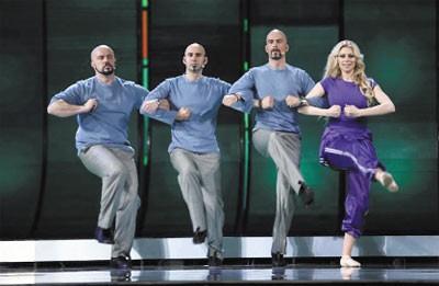Prateći vokali i balerina - Evrovizija 2009