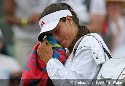 Ana Ivanović napušta meč protiv Venus Vilijams
