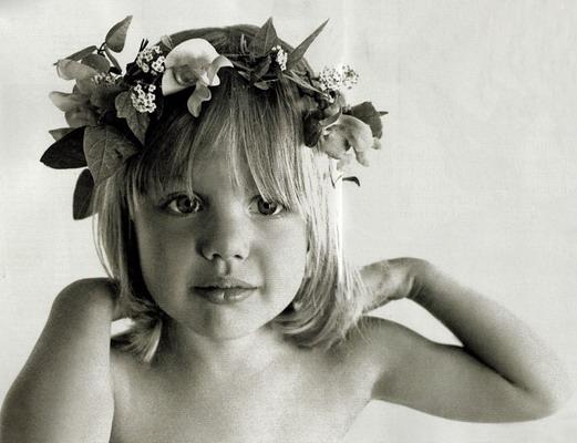 Anđelina Džoli, kad je bila mala