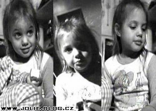 Anđelina Džoli kad je bila mala