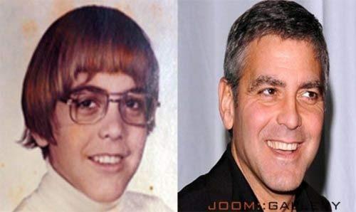 Džordž Kluni kao klinac