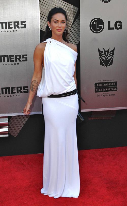 Megan Foks na premijeri drugog dela filma Transformersi