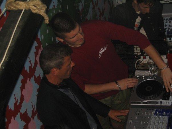 Nik Sloter kao DJ