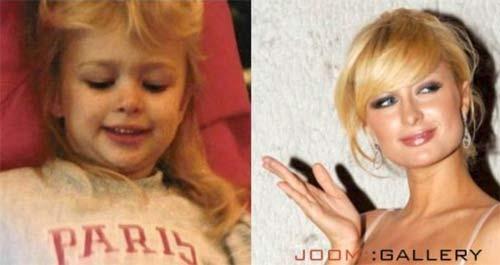 Paris Hilton kao devojčica