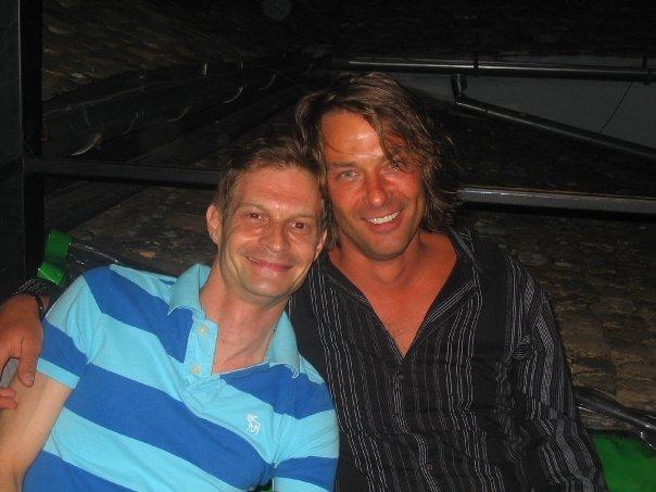 Srđa Popović i Džon Branko Stjuart