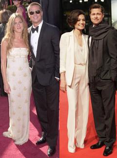 Bred Pit, Dženifer Aniston, Anželina Džoli