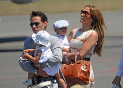 Dženifer Lopez sa mužem i blizancima