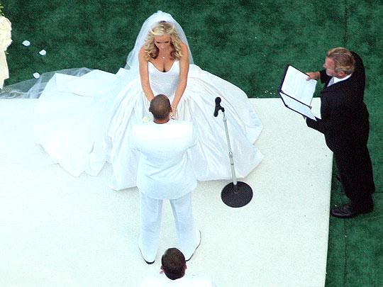 Kendra Vilkinson i Henk Basket venčanje