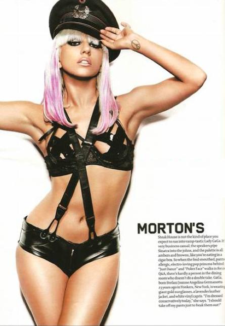 Lady Gaga Maxim