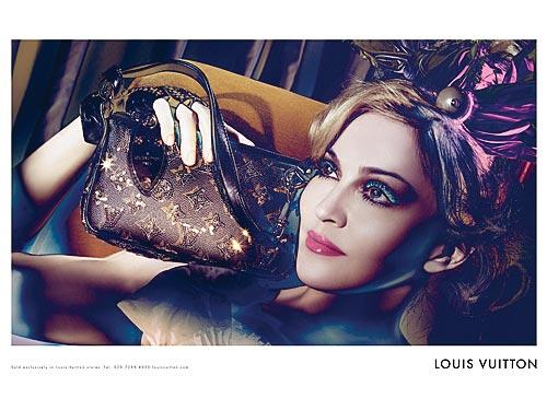 Madona za Luj Viton, reklama 2009