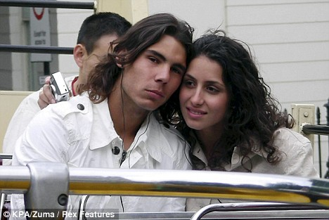 Rafael Nadal i njegova devojka