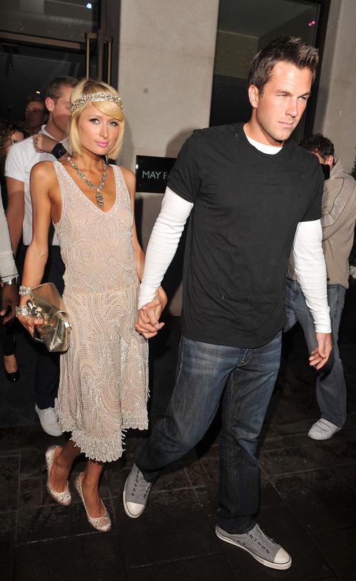 Paris Hilton i Dag Reinhart