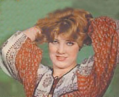 Snežana Đurišić sa početka karijere