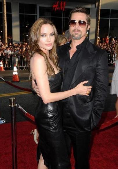 "Bred Pit i Anđelina Džoli na premijeri filma ""Inglorious Bastards"" u Holivudu"