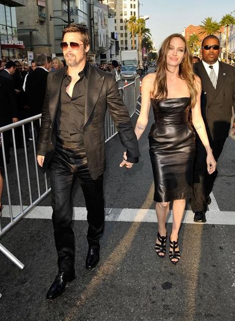 "Bred Pit i Anđelina Džoli na premijeri filma ""Inglorious Bastards"""
