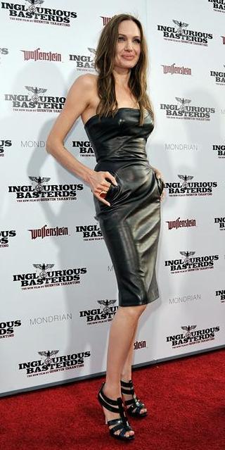 "Anđelina Džoli na premijeri filma ""Inglorious Bastards"" u Holivudu"