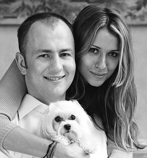 Andrej Meljničenko i njegova supruga Aleksandra (Sandra) Models