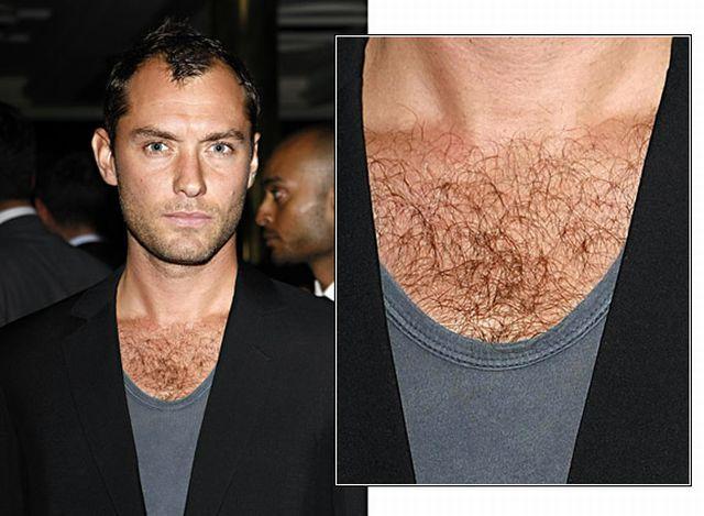 Džad Lou sa dlakavim grudima