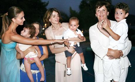 Emina Jahović na proslavi prvog rođendana svog sina Jamana