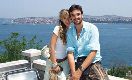 Ivan Bosiljčić sa devojkom