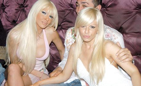 Jelena Karleuša i Dara Bubamara iz perioda kad su se družile