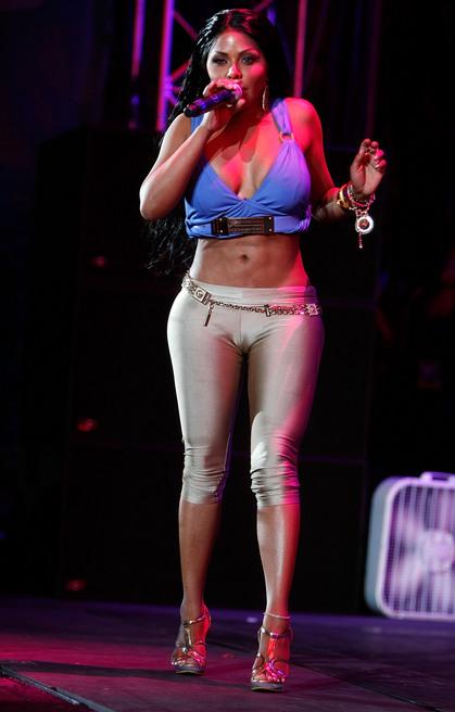 Lil Kim na svom nastupu u Nju Džersiju, 7. jun 2009