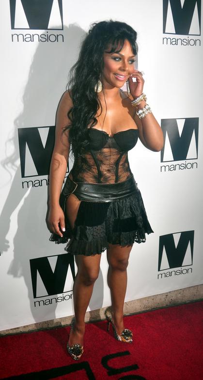 Lil Kim na žurci za svoj rođendan, jul 2009