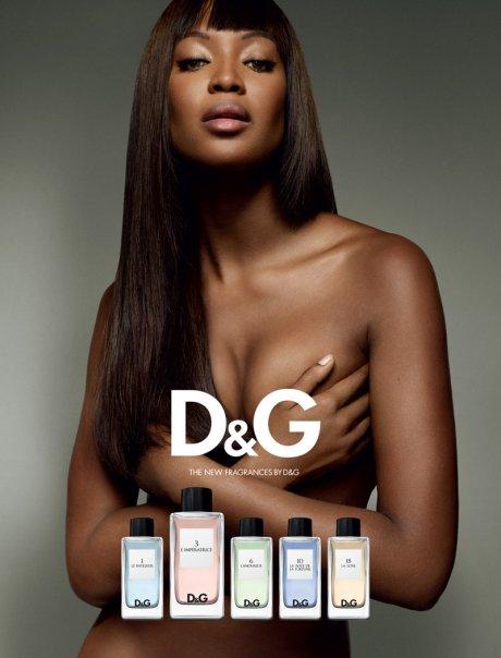 "Naomi Kembel u novoj reklami za parfem ""Anthology"", D&G"