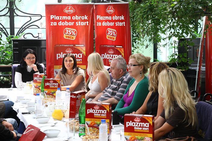 Plazma Dobar Start - kasni doručak