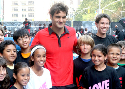 Rodžer Federer na US Openu