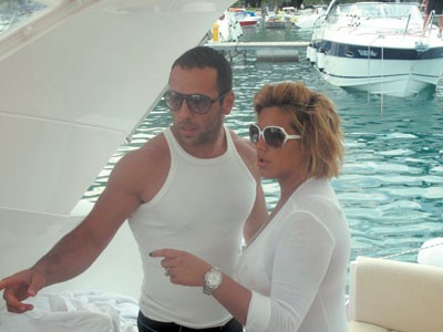 Seka Aleksić i njen novi dečko, telohranitelj Veljko Piljikić