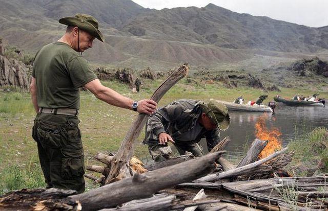 Vladimir Putin: action man