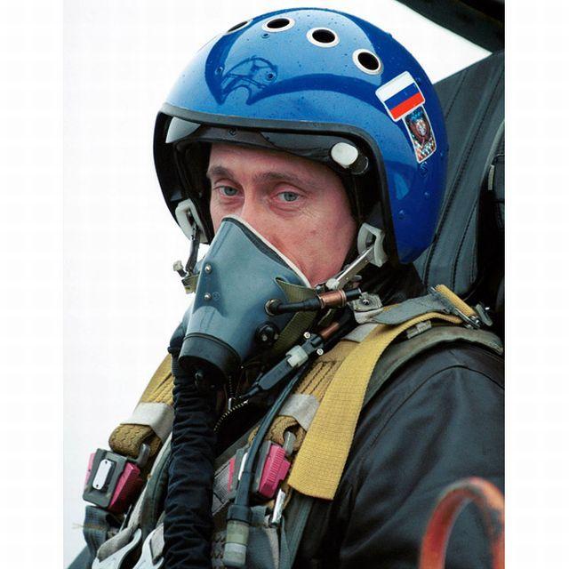 Vladimir Putin u avionu