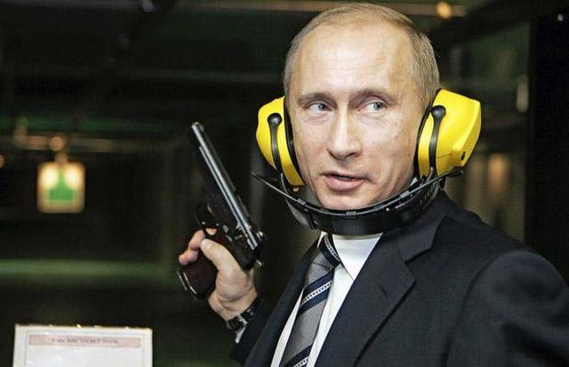 Vladimir Putin puca