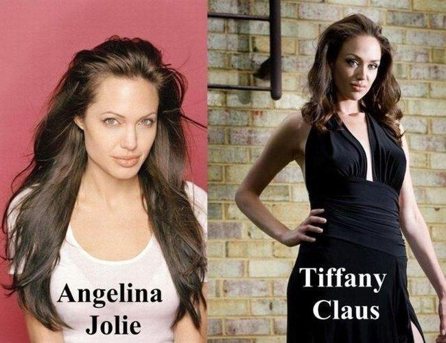 Anđelina Džoli i Tifani Klaus
