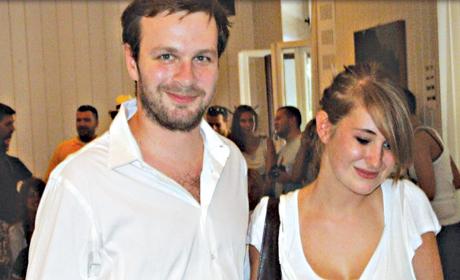 Skaj Vikler i Mina Berček - slika sa venčanja