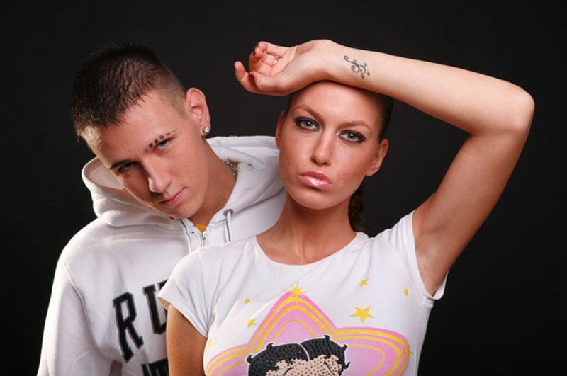 Stefan Cvijović Cvija i Sara Trajanović