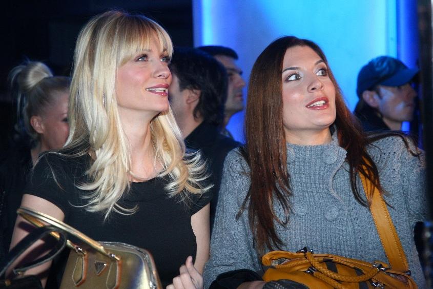 Ivana Škorić i Adrijana Čortan na Beogradskoj nedelji mode