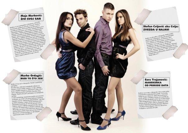 """Maja Marković """"New Angels"""", Super new magazin"""