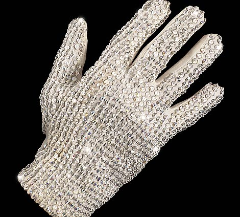 majkl dzekson rukavica