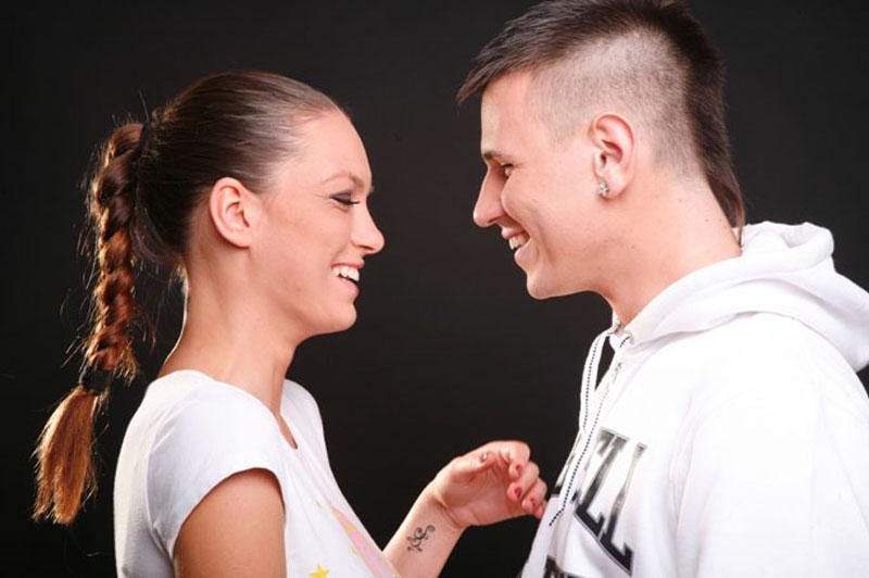 Sara Trajanović i Stefan Cvijović Cvija