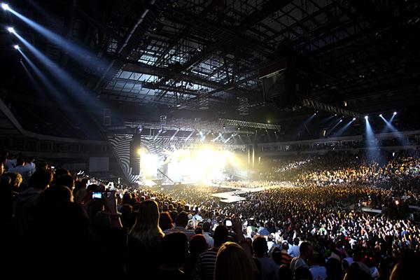 Van Gogh koncert, Beogradska arena