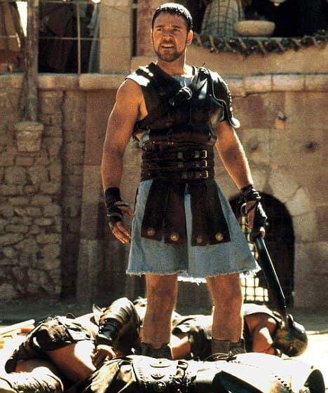 rasel krou u gladijatoru