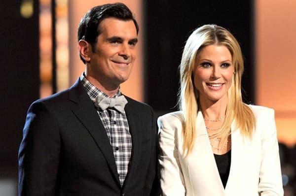 """Protagonisti serije """"Moderna porodica"""" Ty Burrell i Julie Bowen bili su  voditelji manifestacije"""